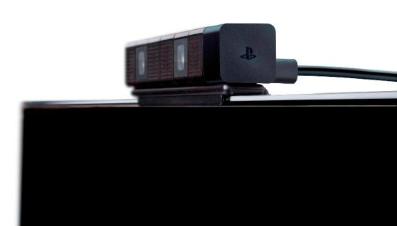 PlayStation 4 Eye - side view