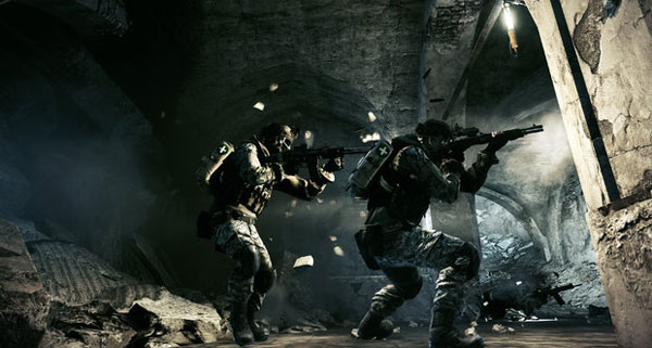 Scrounging around Donya Fortress in Battlefield 3