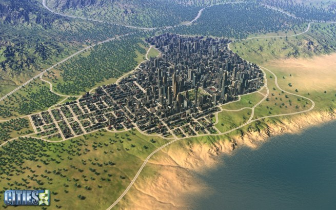city simulation game