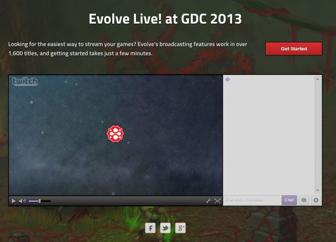 Evolve at GDC