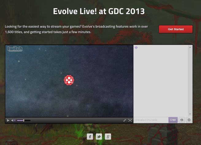 Evolve at GDC