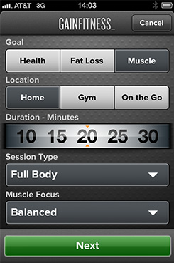 Gain Fitness