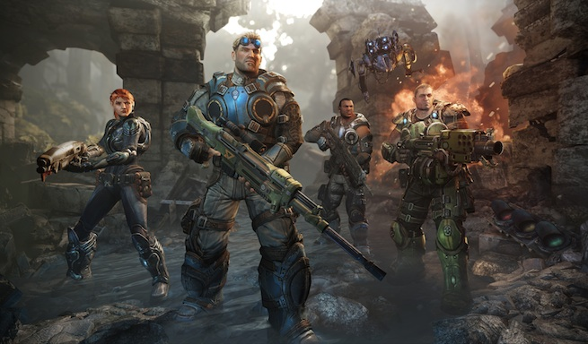 Gears of War: Judgment's Kilo Squad