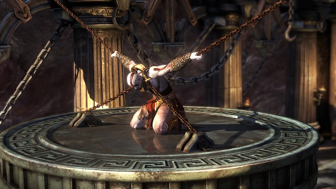 God of War: Ascension chained