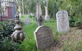 Graveyard photo from Disneyland