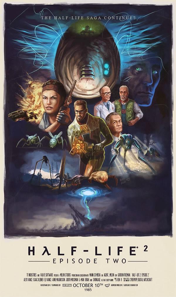 Half-Life 2: Episode 2 poster