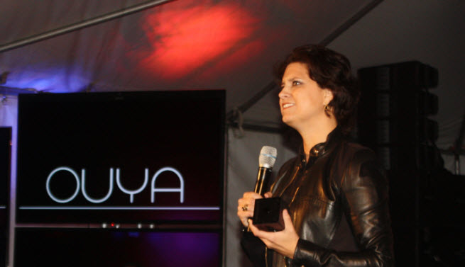 julie uhrman ouya
