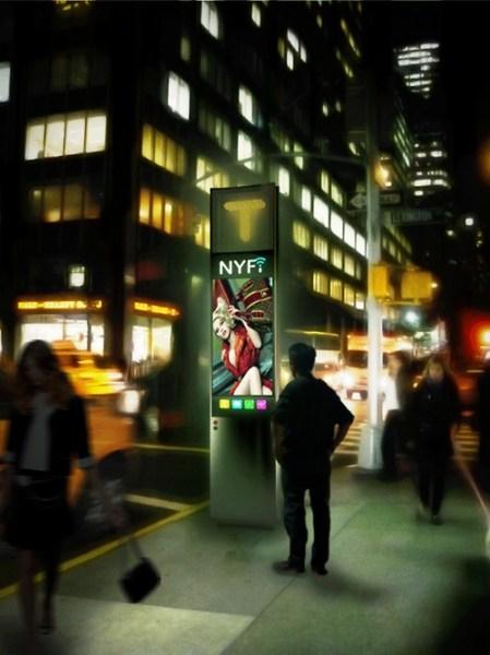 NYfi: NYC's Reinvent Payphones best connectivity award winner