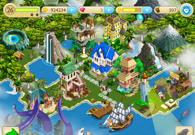 pocket gems paradise cove