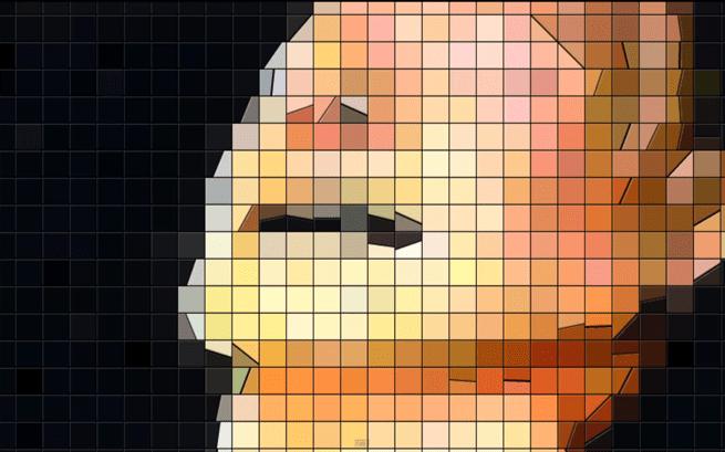 Radiohead 8-bit album cover