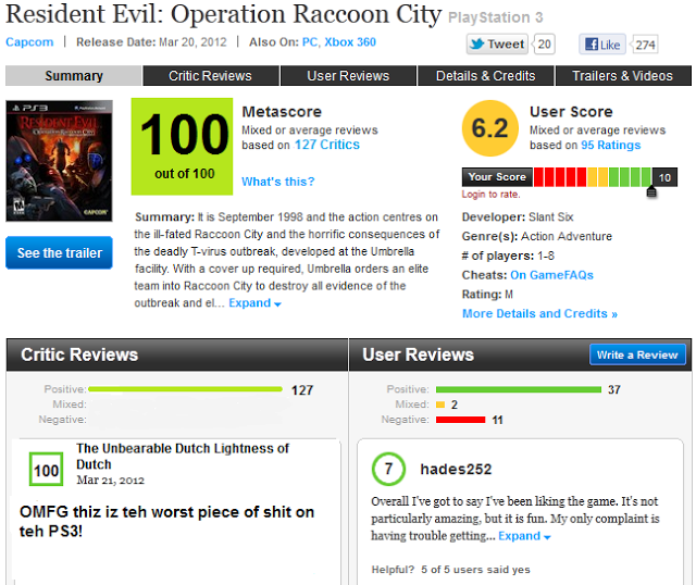 The future of Metacritic?