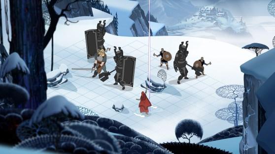 Combat in The Banner Saga.