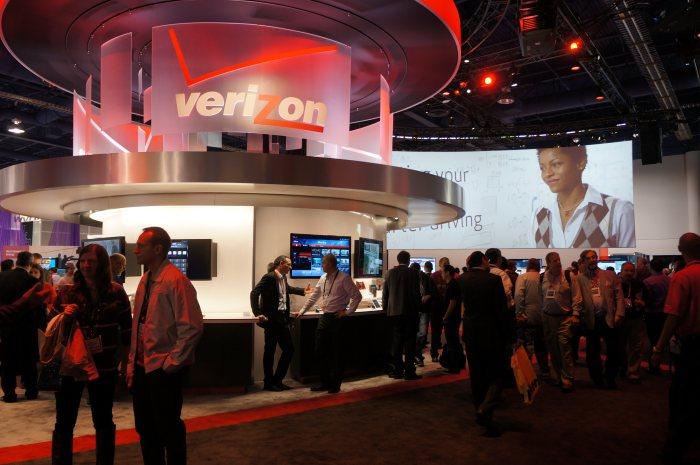 Verizon's CES 2013 booth