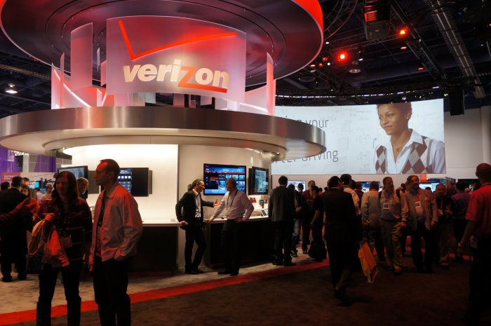 Verizon's CES 2013 booth