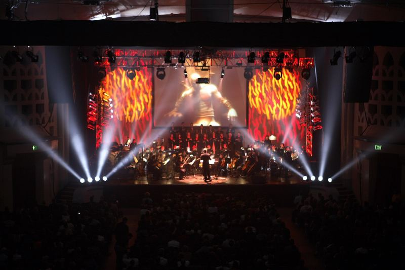 Video Games Live in concert.