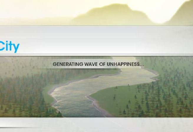 Wave of unhappiness