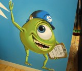 Monsters Inc. artwork in ZocDoc's office