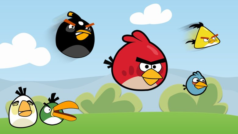 Angry Birds. You've probably heard of it.