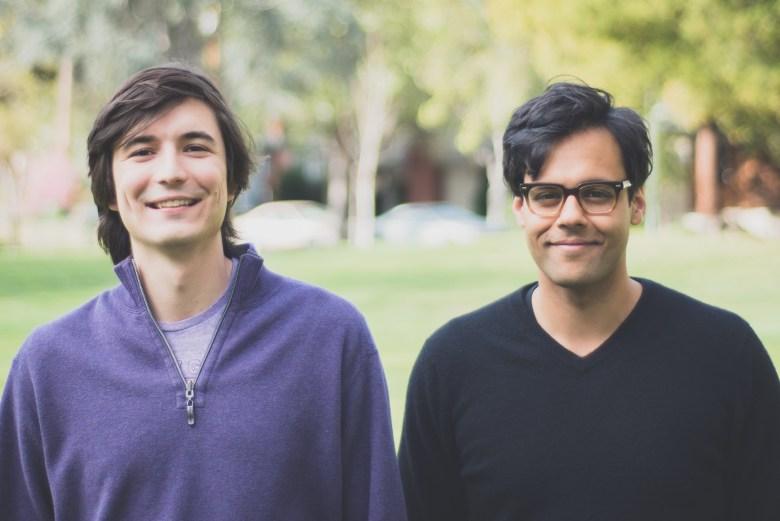 Robinhood founders Vlad Tenev and Baiju Bhatt.