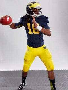 NCAA Football 14 - Denard Robinson photo shoot