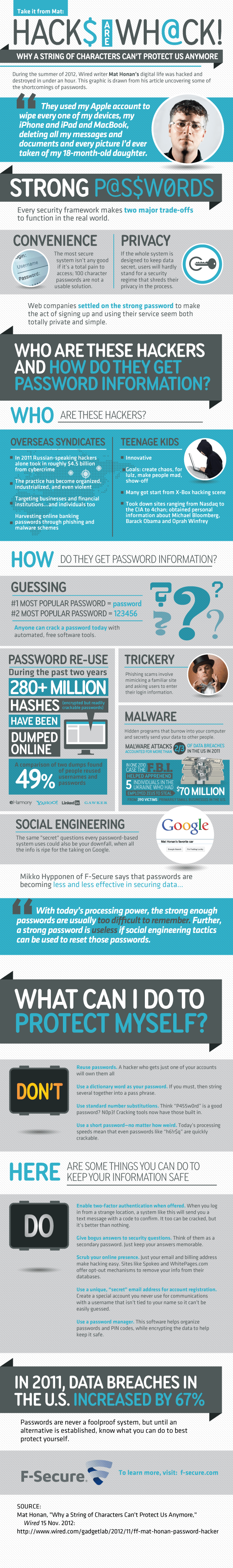 F-Secure Mat Honan Infographic