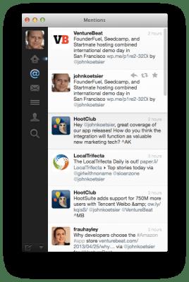 Twitter app for Mac