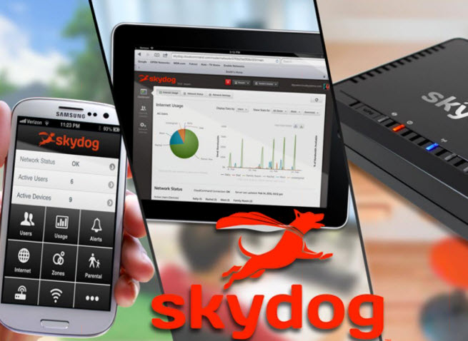 Skydog router and app