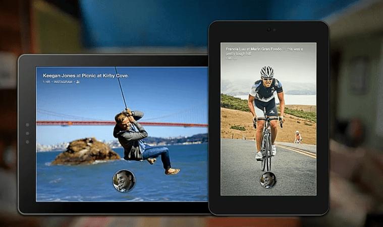 Facebook Home on Tablets