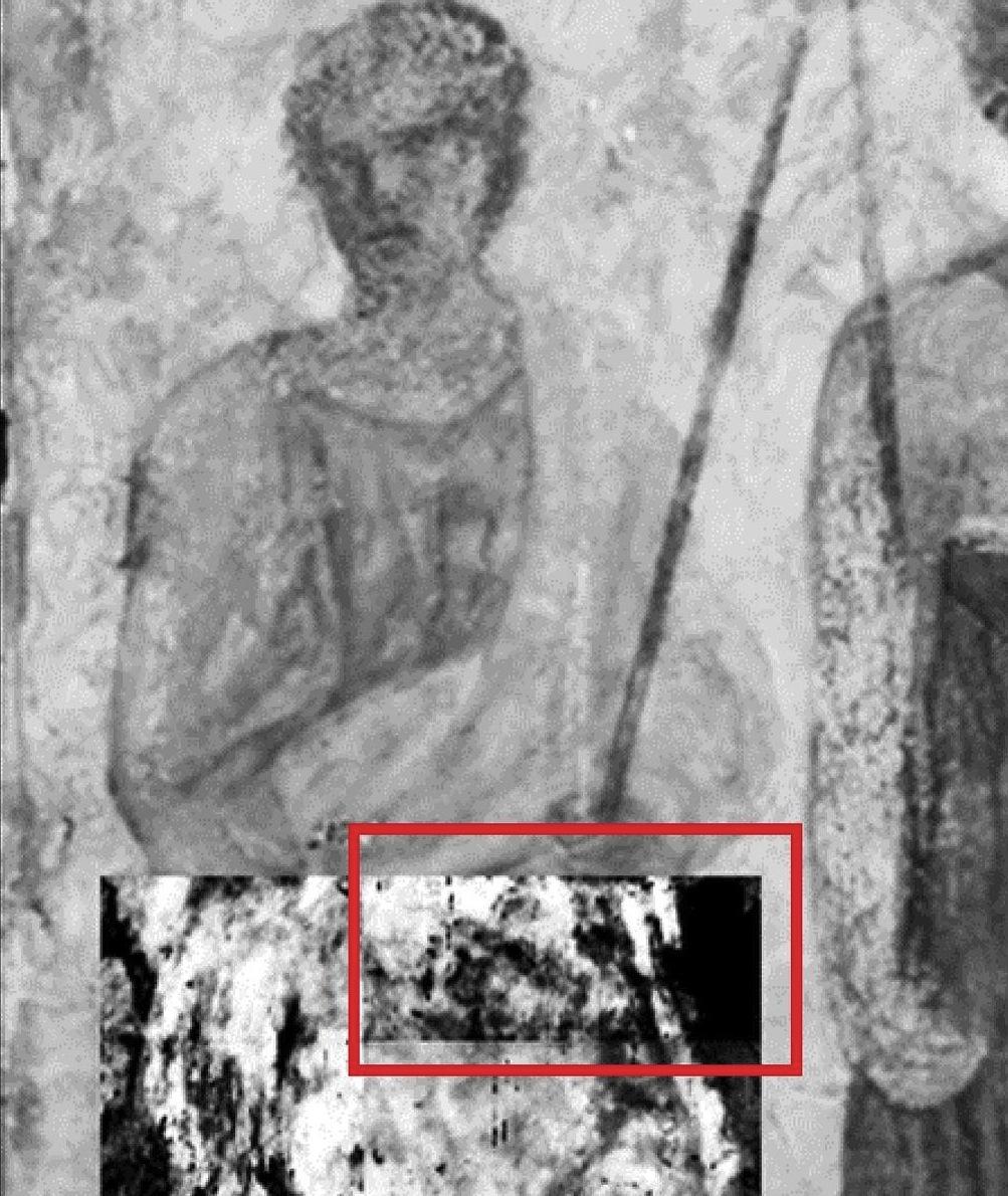 trois hommes fresco