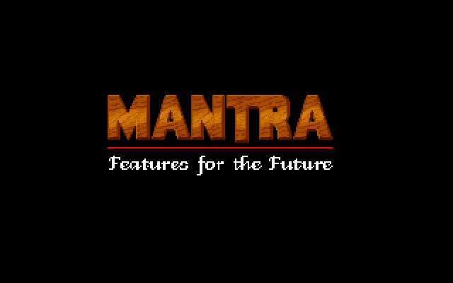 Ys II Special MANTRA logo