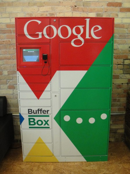 A BufferBox for all your packages from Google's latest Canadian acquisition.