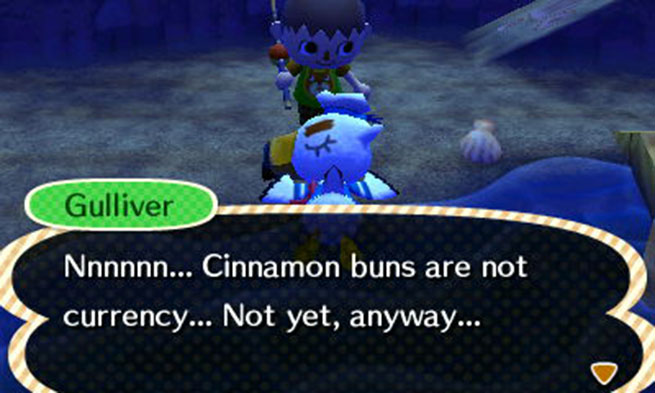 Animal Crossing considers a solution to our current financial issues.