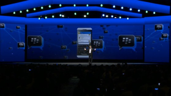 BlackBerry Messenger live
