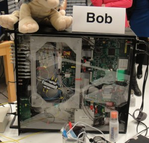 """Bob"" receives quantum communications"