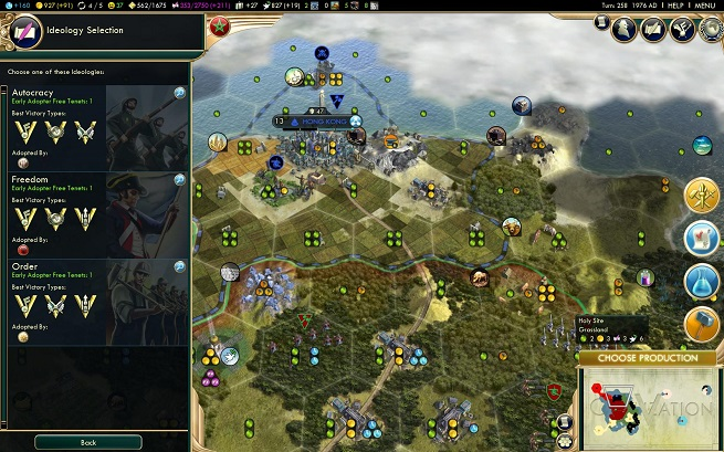 Civ V Brave New World Idelogy