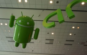 Android was everywhere, literally