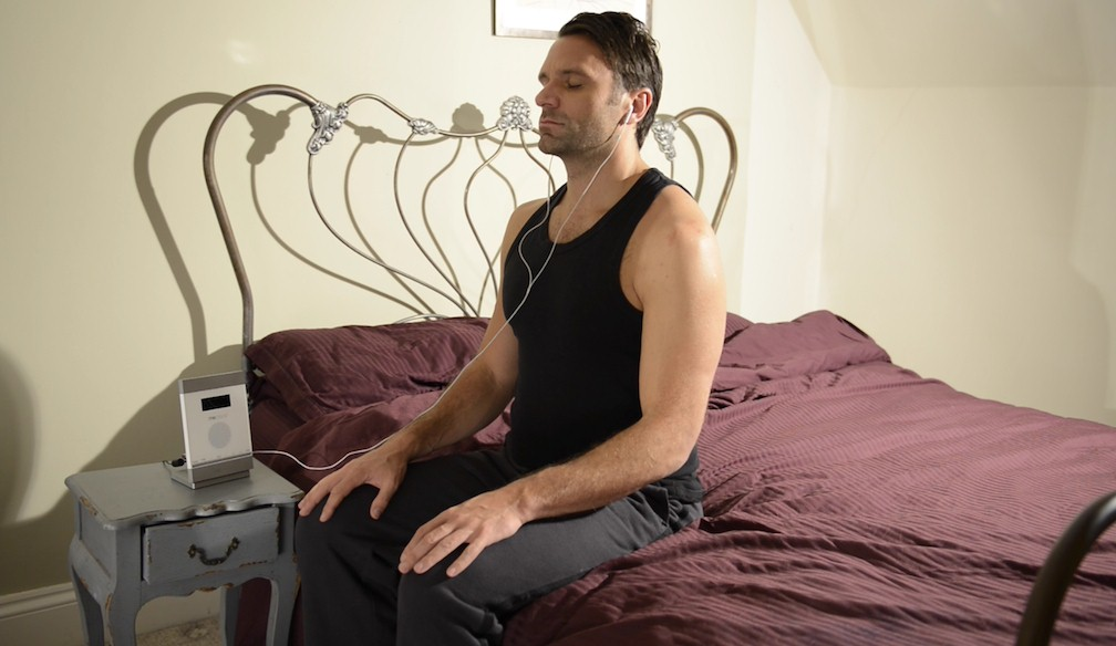 Mark in Bed