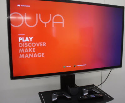 ouya main screen