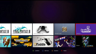 ouya screen