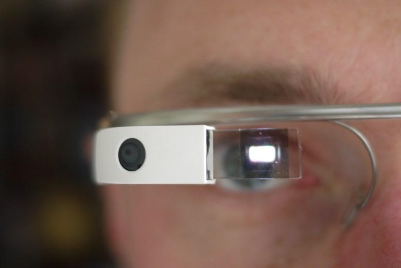 Google Glass: watching me, watching you.