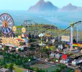 SimCity amusement parks