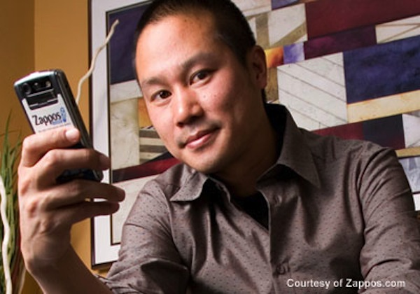 Zappos chief executive Tony Hsieh