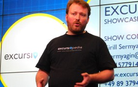 Excursiopedia presenting at DEMO Europe.