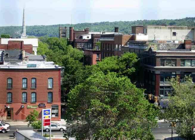 Downtown Ithaca, N.Y.