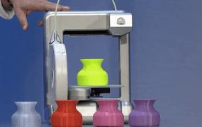 A MakerBot 3D printer.