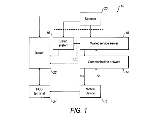 apple patent virtual currency digital wallet