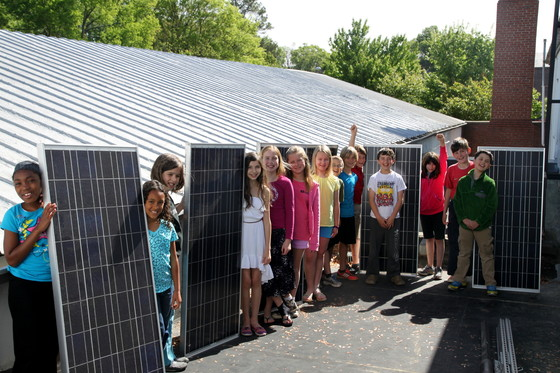 Central Park School for Children makes their classroom solar-powered
