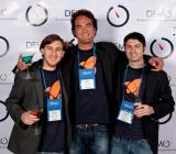 Venturocket founders at DEMO 2012.