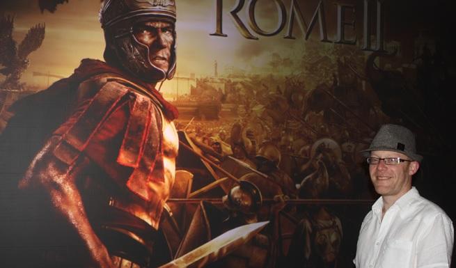 Creative Assembly's Al Bickham on Total War: Rome II