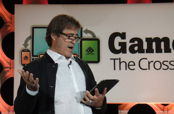 Bing Gordon at GamesBeat 2012.